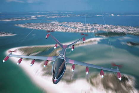 High-Tech Air Taxis