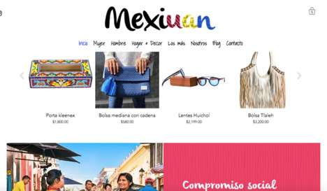 Mexican eCommerce Platforms - 'Mexiuan' Helps Mexican Brands Empower Artisans, Children and More