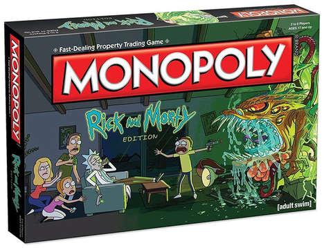 Intergalactic Cartoon Board Games