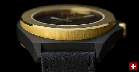 Raw Industrial Watch Designs