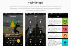 Schedule-Accommodating Goal Apps - The 'Nolimit' App Helps Users Achieve Goals Seamlessly