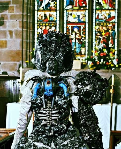 Wearable Horror Sculptures
