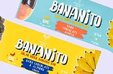 Solar-Dried Snack Bars - The MightyBee 'Bananito' Vegan Banana Bars are an Eco-Friendly Snack