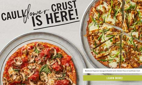 Low-Carb Pizza Crusts - California Pizza Kitchen Now Offers a Healthy Cauliflower Crust Option