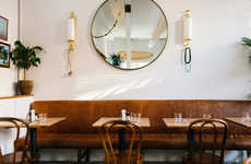 Modern Vintage Restaurant Decor - 'Basic Projects' Revamped a Diner to Fit a Historic District