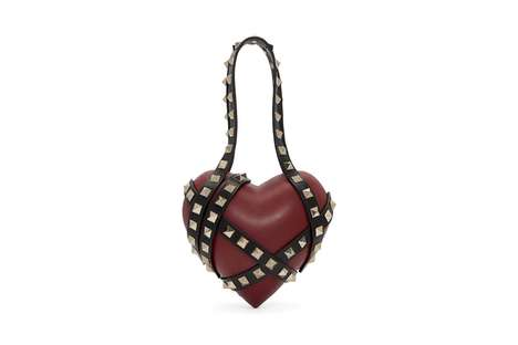 Luxurious Heart-Shaped Bags