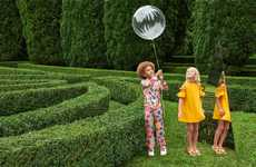 Luxe Tropical Children's Apparel - Fendi Created a New Line of Fun Summer Clothes for Children