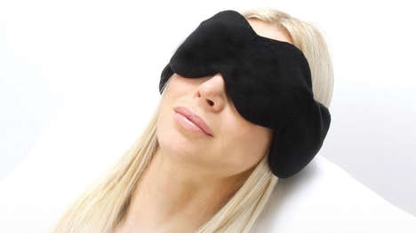 Weighted Sleep Therapy Masks - The 'NodPod' Mask Lulls You to Sleep by Applying Gentle Pressure