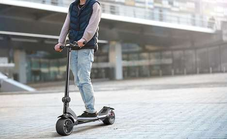 Comfortable Suspension Scooters