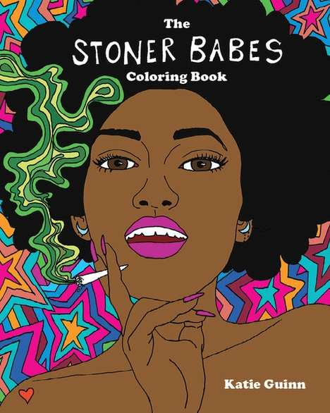 Female-Empowering Cannabis Coloring Books