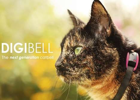 Feline Movement-Alerting Devices - The 'Digibell' Cat Bell Alerts Prey of an Impending Attack