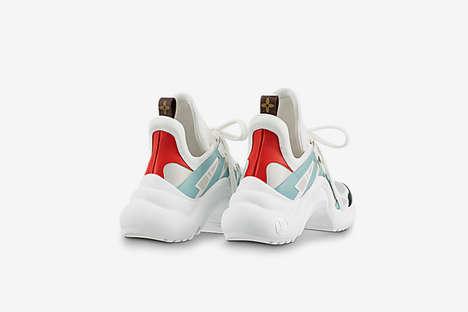 Luxurious Futuristic Sneakers