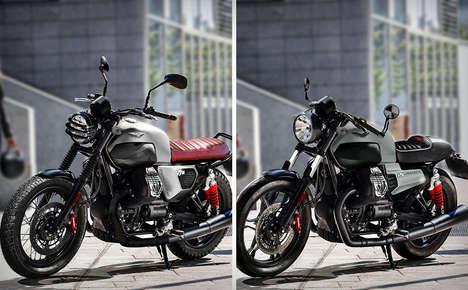 Industrial Motorcycle Designs