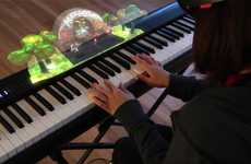 AR Piano Lessons - The Music Everywhere App Uses AR to Teach the Piano