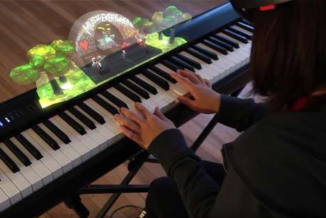 AR Piano Lessons