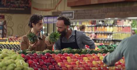 Realistic Shopping Ads - The New Whole Foods Campaign is Its First Under Amazon Ownership