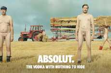 Transparent Vodka Campaigns - The Newest Absolut Vodka Campaign Focuses on Sustainability