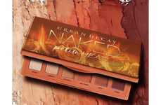 Fiery Mini Makeup Palettes - Urban Decay's Petite Heat Palette is Available in an On-the-Go Size