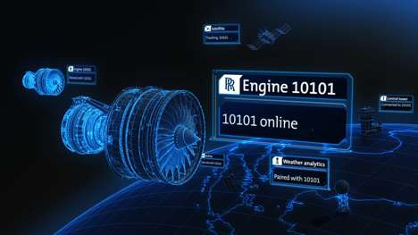 Self-Repairing Plane Engines