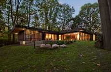 Mid-Century Modern Home Renovations - HAUS Architects Re-Designed a Modern Indianapolis Home