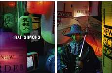 Glowing Neon Fashion Campaigns