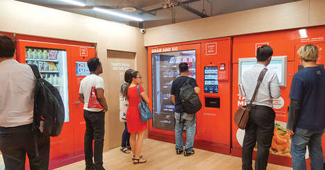 Vending Machine Cafes - Chef-in-Box's VendCafes are Disrupting the Industry in Singapore