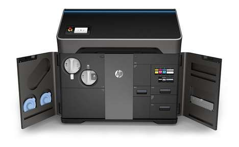 Full-Color 3D Printers - The First HP 3D Printers are Already Changing the Way Printers Handle Color