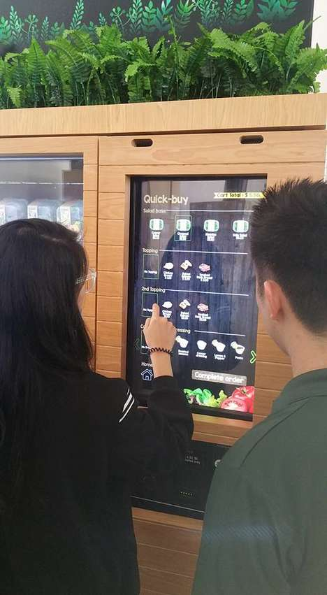 Salad Vending Machines - 'Shake Salad' Targets Busy, Health-Conscious Consumers