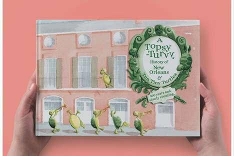 Historic Restaurant Storybooks
