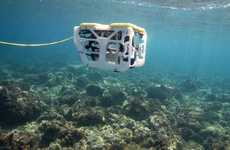 DIY Underwater Drones - The Sibiu Nano Drone Offers Open-Source Software and Optional Self-Assembly