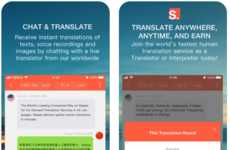 Human-Powered Translation Apps - The 'Stepes' App Lets Travelers Summon Translators in Real-Time