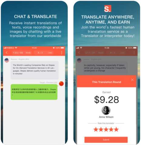 Human-Powered Translation Apps