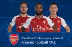 Groundbreaking Cryptocurrency Sponsorships - CashBetCoin Will Be Promoted By the Arsenal Soccer Team