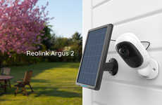 Wire-Free Solar Security Cameras