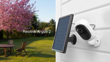 Wire-Free Solar Security Cameras