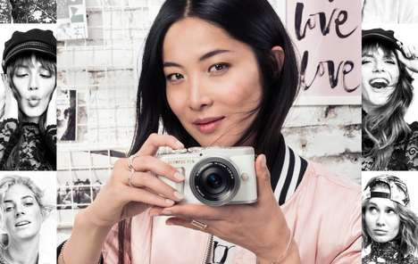 Smartphone User-Targeted Cameras - The Olympus PEN E-PL9 is Ideal for Beginners and Intermediates