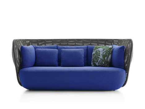 Woven Over-Sized Outdoor Sofas