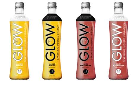 Functional Sparkling Beverages - GLOW Beverages Now Makes Drinks to Boost Hydration and Energy