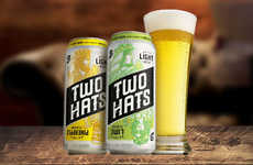 Young Consumer-Targeted Libations - The Two Hats Light Beer is Infused with Fruity Flavors