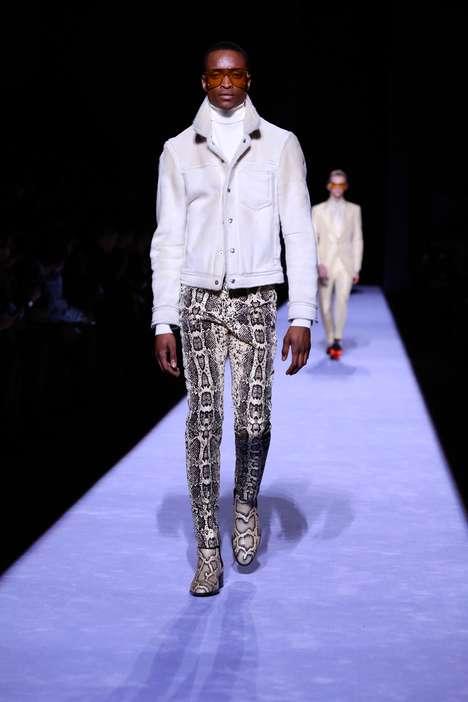 Elegantly Layered Menswear