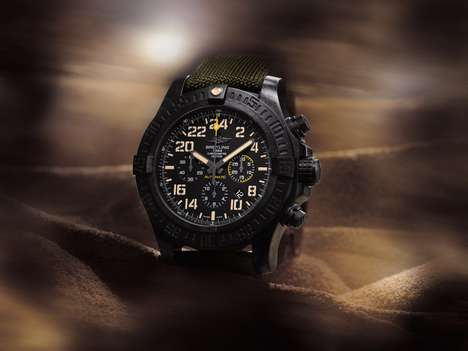 Military-Inspired Watches - The Breitling Avenger Hurricane Military is a Rugged and Elegant Watch
