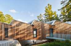 Vibrant Lakeside Retreats - The Sky House by Timberline Custom Homes is a Modern Cottage in Ontario