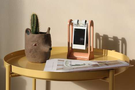 Chic Instant Photo Displays - The Inrolo Can Hold Up to 10 Instax Photos at Once