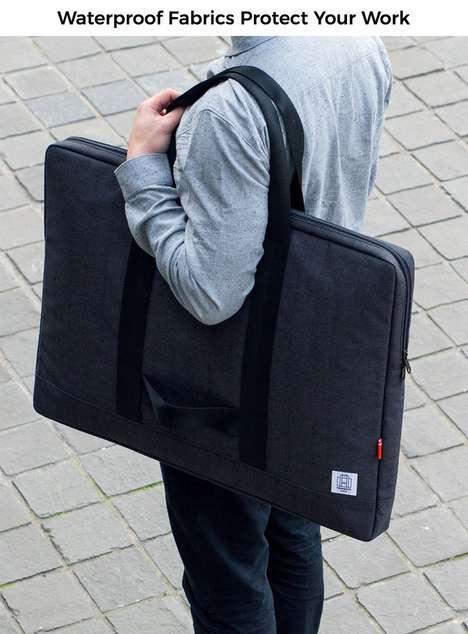 Durable Design-Focused Portfolio Bags