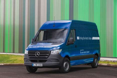 Connected Electric Vans