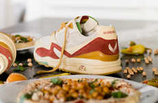 Hummus-Inspired Sneakers