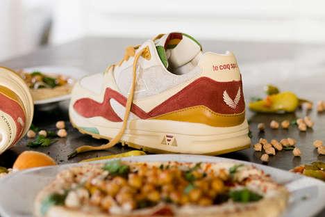 Hummus-Inspired Sneakers