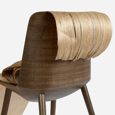 Biodegradable Fiber Chairs