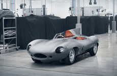 Limited-Edition Iconic Cars - Jaguar Will Rebuild Its D-type Race Car After Sixty Years