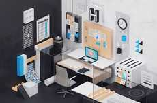 Font-Inspired Office Designs